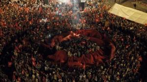 manif 60813 devant ANC Tunis