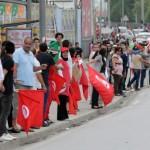 La mobilisation se maintient pour exiger le départ de Ennahda