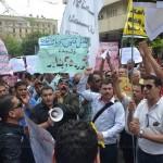 Grève nationale des travailleurs de  NCEDC (compagnie de distribution d'électricité au Caire),