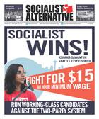 Couverture du journal de Socialist Alternative (CIO-USA)