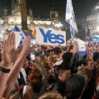 Ecosse: Après le Non , la lutte contre l'austérité continue