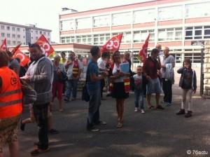 Victoire des agents territoriaux du Havre après 4 jours de mobilisation!