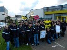 Dieppe et ses environs : grève illimitée des facteurs contre la dégradation de leurs conditions de travail