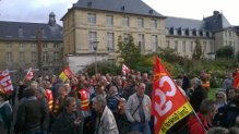 Photos mobilisation du 16 octobre à Rouen