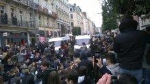 Rouen, Manifestation contre les violences policières et en hommage à Rémi Fraisse, on continue!