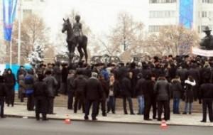 Hommage aux travailleurs de Zhanaozen, massacrés le 16 décembre 2011 au Kazakhstan !