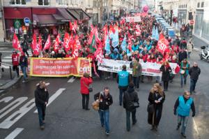 Grève dans le commerce en IDF contre la loi macron
