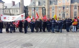 Grèves victorieuses des facteurs à Rouen et Lisieux