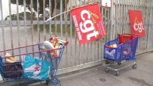 Au Carrefour de Marseille Meylan le 13 mars, 60% des employés en grève
