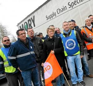 Redressement ou liquidation judiciaire de MoryGlobal: les salariés sont en lutte