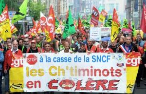 Soutenons la grève des cheminots!