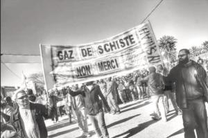 manifestation contre les gaz de shiste en algérie