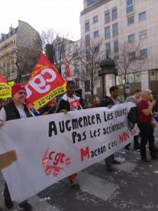 9 avril 2015 : une première journée de grève interprofessionnelle unitaire réussie !