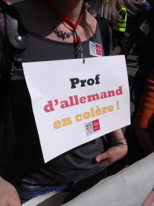 prof d'allemand 9 avril