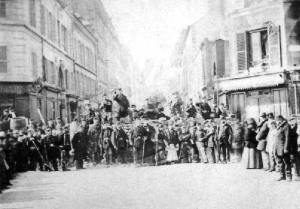 commune de paris barricade