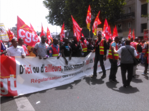 Manifestations du 25 juin – quelques photos