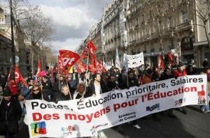Grève et manifestation le jeudi 11 juin à Rouen contre la réforme du collège