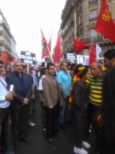 Rassemblements en soutien à la résistance des Kurdes contre Daesh et l'État Turc