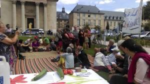 Ferme des Bouillons près de Rouen: le projet collectif des militants menacé