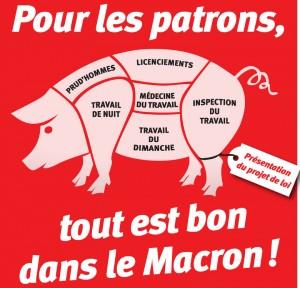 Macron au ministère antisocial
