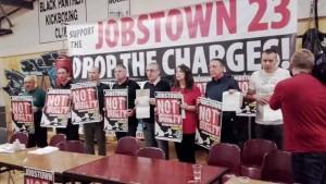 En Irlande comme en France, stop à la répression des militants syndicaux et politiques. Solidarité avec les «27 de Jobstown»