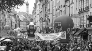 Journée de grève du 9 avril 2015. Des dizaines de milliers de salariés étaient venus manifester à Paris. Et dans de nombreuses entreprises, des luttes pour les salaires et les conditions de travail se produisaient