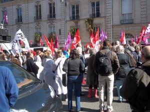 Les hôpitaux de Paris à nouveau en grève