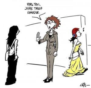 Assez du flicage vestimentaire !