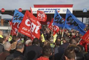 Le 2 décembre, en soutien aux salariés d'Air France et de tous les travailleurs qui luttent !
