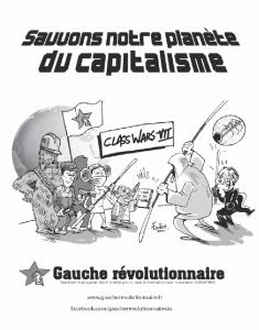 Demandez la nouvelle brochure de la Gauche révolutionnaire