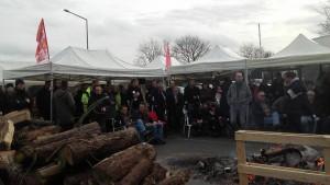 piquet de grève Sidel le Havre