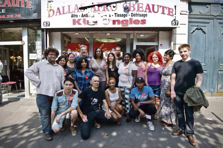 Victoire clatante des coiffeuses du 57 bd de strasbourg for Salon de coiffure afro chateau d eau