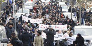 Marche à Aulnay-sous-Bois le 6 février 2017