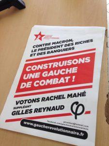 Affiche GR votons rachel