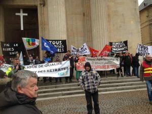 Parvis 22 mars greve
