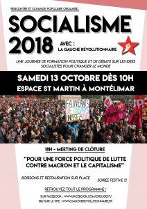 SOCIALISME 2018 Affiche V2 Coul