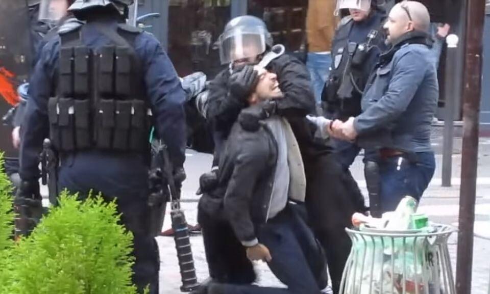 Le système Macron illustré : l'impunité pour les copains, la matraque pour les adversaires et ennemis