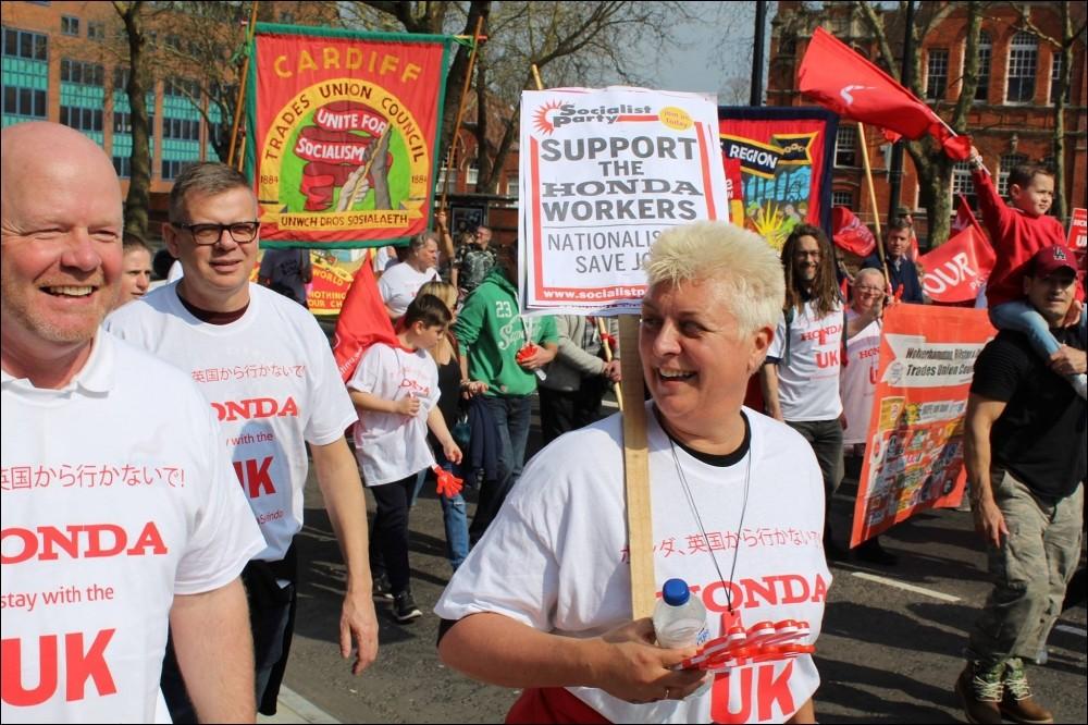 Les travailleurs-ses ne veulent pas de l'austérité et des privatisations que ca vienne de Boris Johnson, des Blairistes ou de Bruxelles