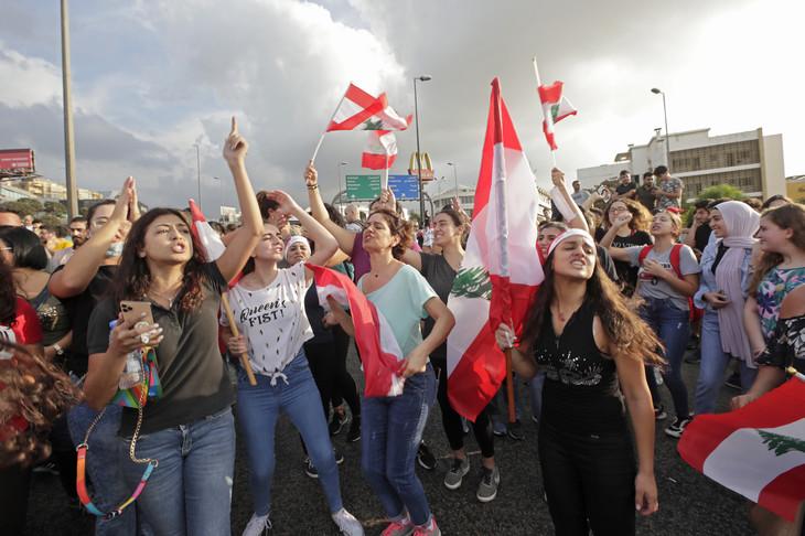Manifestation à Beyrouth le 18 octobre