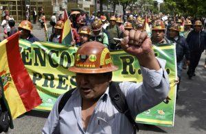 Manifestation des mineurs en soutien à Morales le 29 octobre