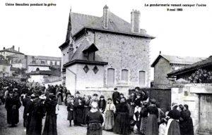 Grève_contre_l'Usine_Beaulieu_(Limoges,_France_-_9_mai_1905)